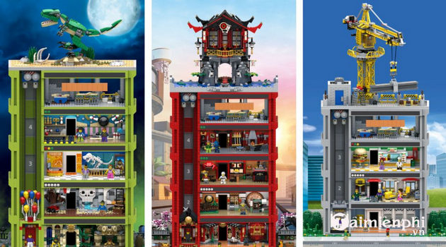 how to play lego tower for people