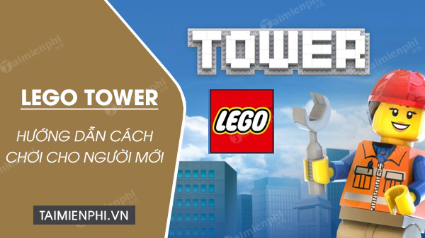 lego tower tutorial for everyone