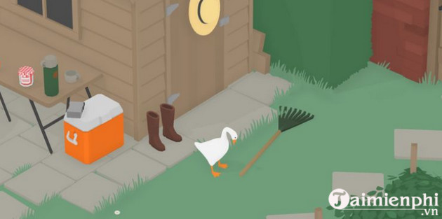 how to go through the garden in untitled goose game 6