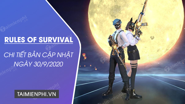 Rules of survival for survival 30 September 2020