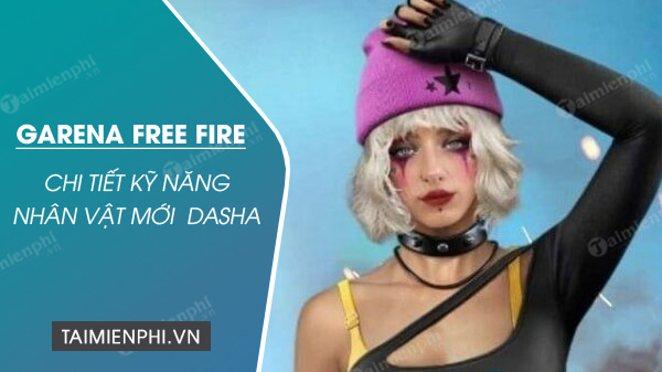 details of the new Dasha free fire ob24