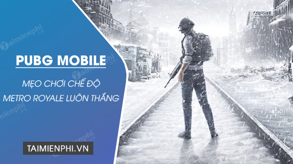 The game is covered by pubg mobile metro royale