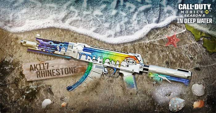 Complete the Rifle Ace Event to get the AK117-Rhinestone
