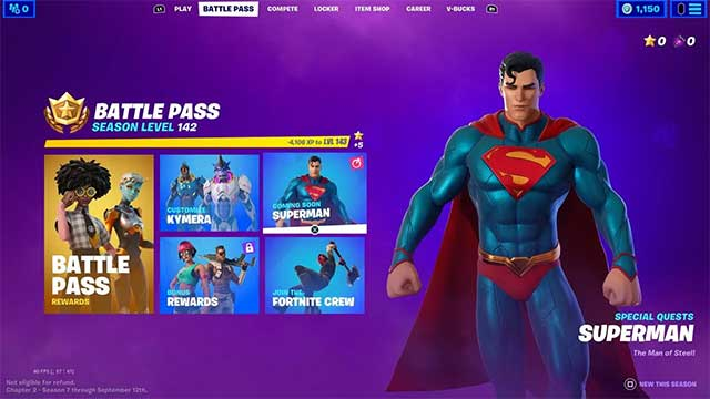 Players must first purchase the Season 7 Battle Pass