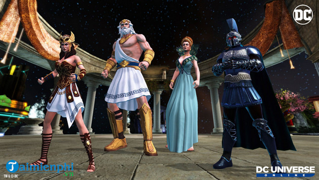 Enter the new world in the game dc universe online 2