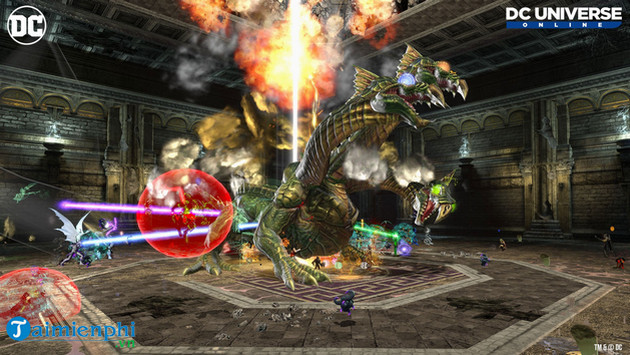 Enter the new world in the game dc universe online 3