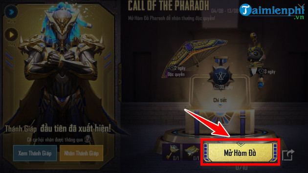 how to play call of the pharaoh in pubg mobile 3