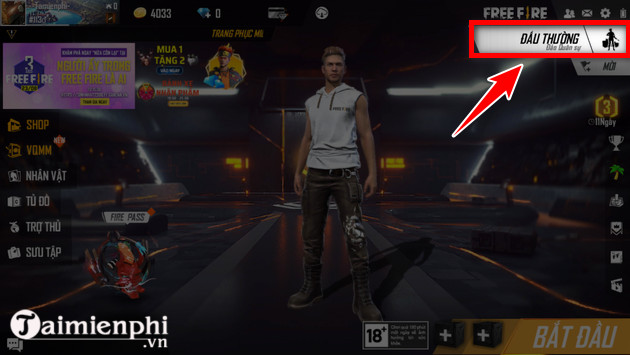 How to get in and out of free fire 3