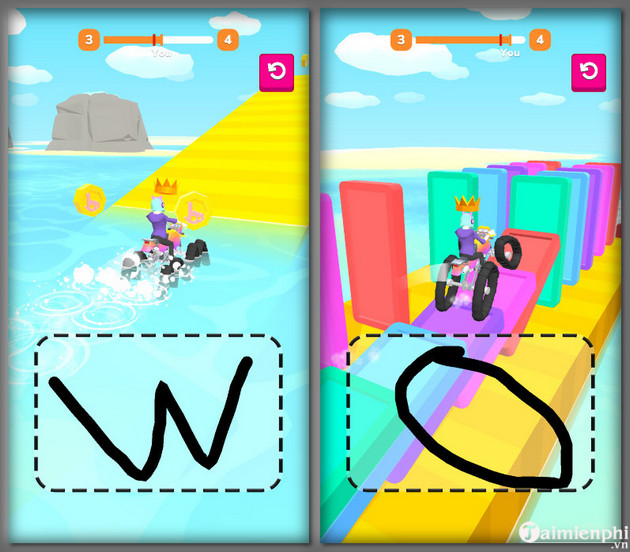 scribble rider 4 game