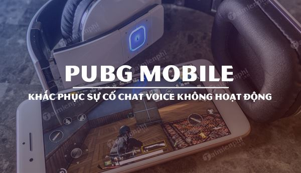 voice chat on pubg mobile