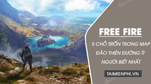 5 locations on the map for free fire