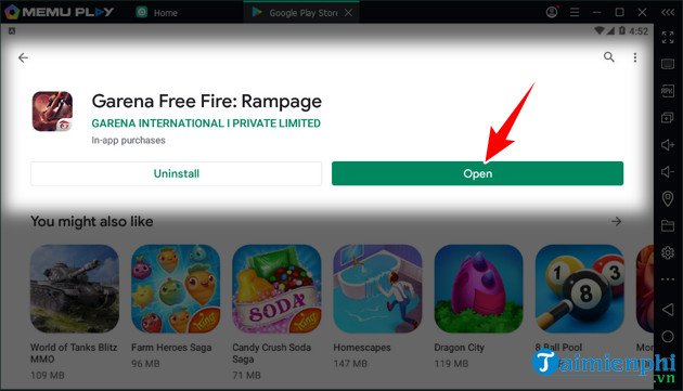 how to play free fire on pc bang gia lap android memu 7