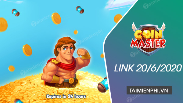 link coin master free spin now 20 Jun 2020