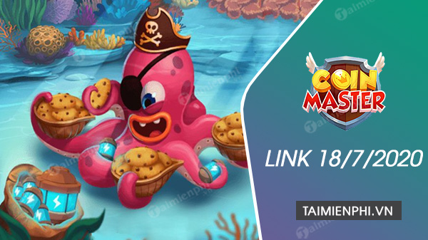 link spin coin master free now 18 July 2020