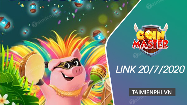 link spin coin master free now 20 July 2020