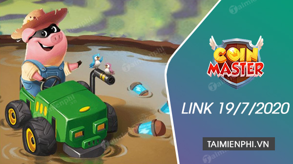 link spin coin master now 19 July 2020