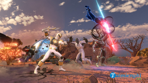 meow and win the game power rangers battle for the grid for everyone