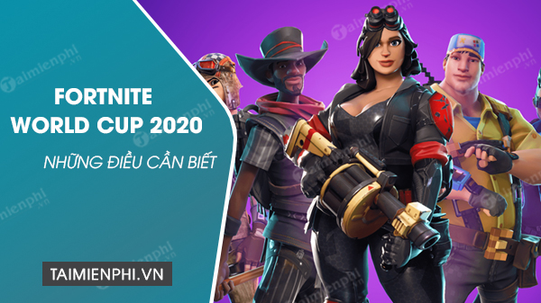 but need to know about the fortnite world cup 2020