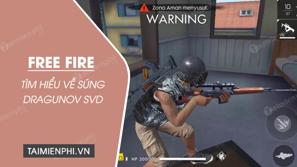 find out more details about dragunov svd in free fire