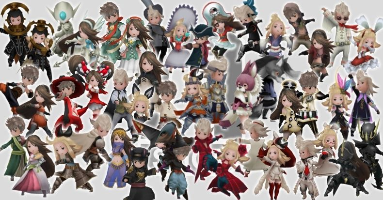 All jobs in Bravely Default 2