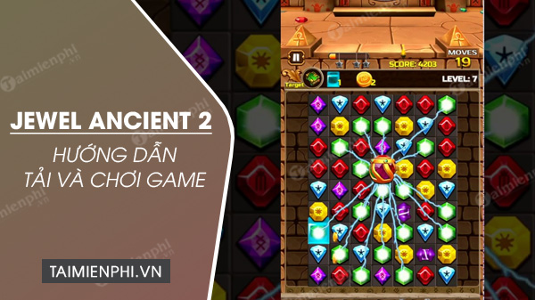 how to install and play jewel ancient game 2