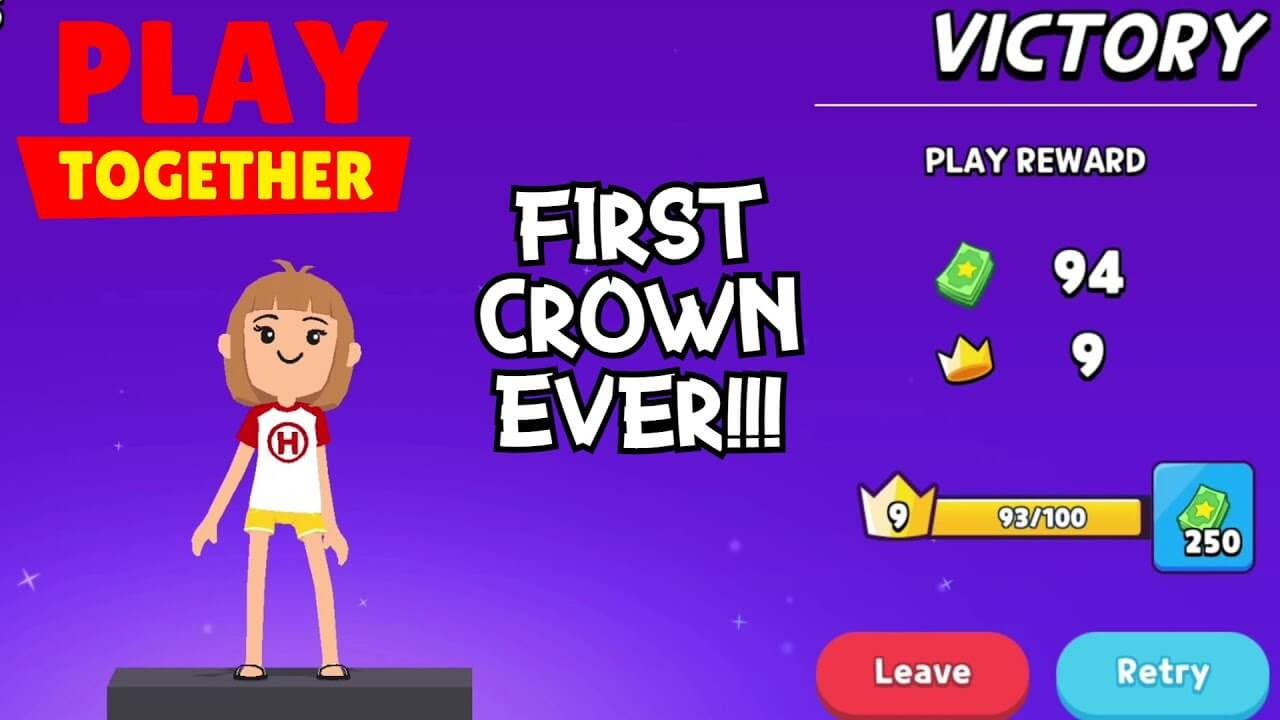 Collect crowns in Play Together