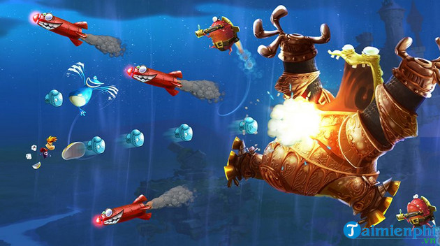 rayman legends game screen on pc 3