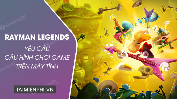 rayman legends game screen on pc